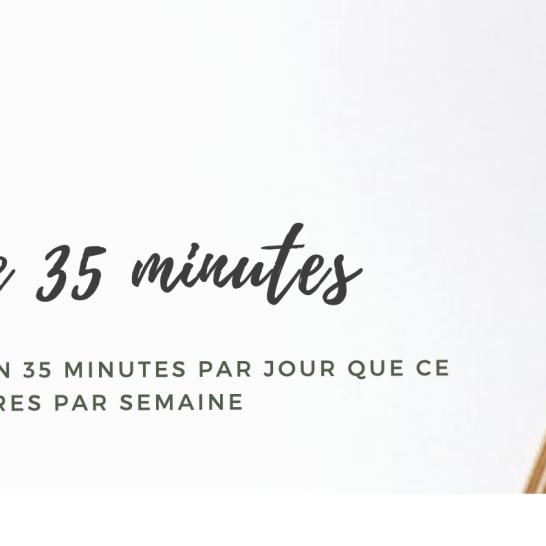 La journée de 35 minutes